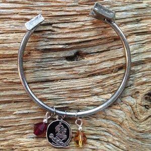Jewelry - Arrow bracelet with FSU charms Florida State noles